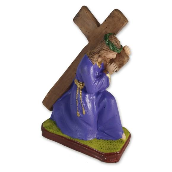 IM1730428 - Imagem Bom Jesus dos Passos Resina - 14x10cm
