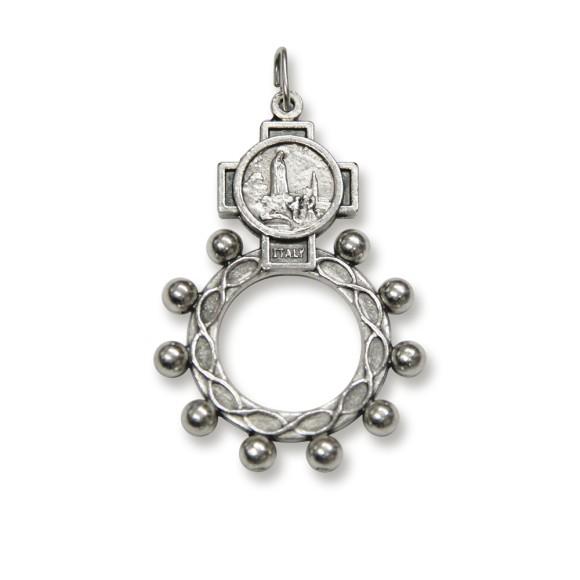 AN83251 - Dezena de Dedo N. Sra. De Fátima Metal - Tamanho Único 5x3,5cm