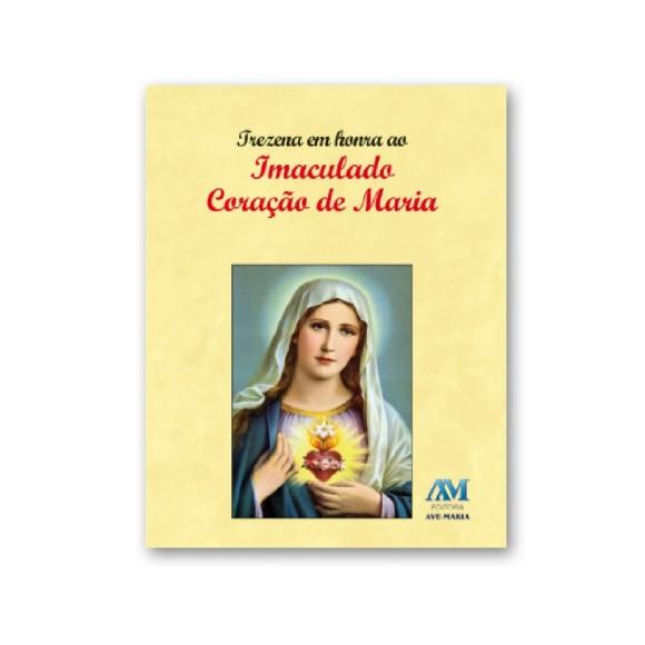 LI47100 - Trezena Imaculado Coração De Maria - 10x8cm