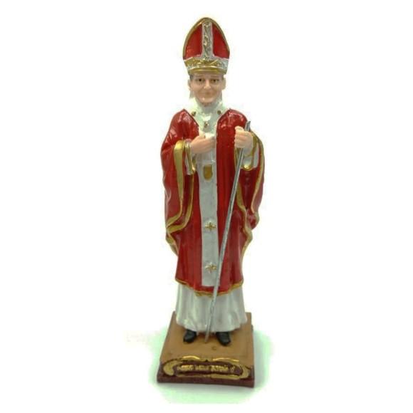 IM1730433 - Imagem Papa João II Resina - 15x5cm