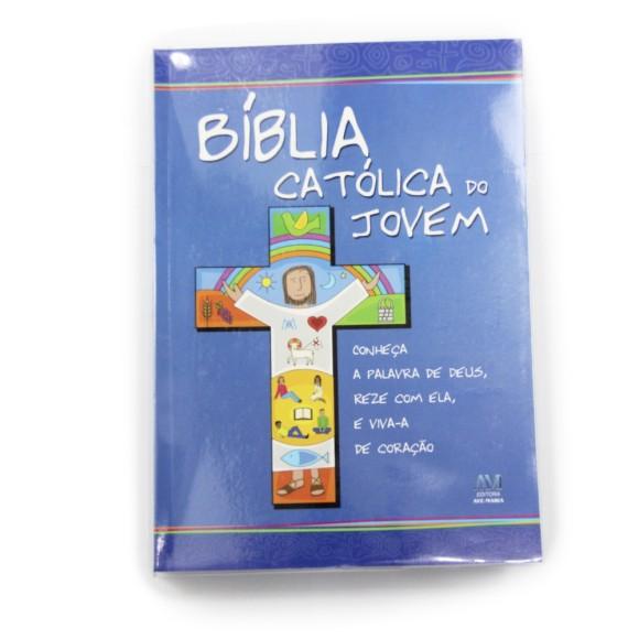 BI1573 - Bíblia Católica do Jovem 23x16cm