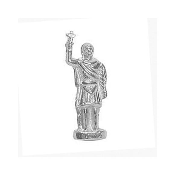 IM88405P3 - Imagem Miniatura Santo Expedito (Bolso) Metal - 2,5X0,8cm