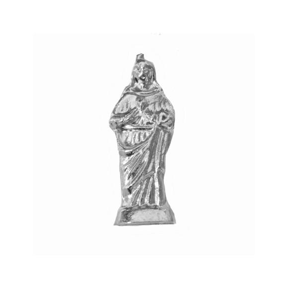 IM88408P3 - Imagem Miniatura Sagrado Coração de Jesus (Bolso) Metal - 2,5X0,8cm