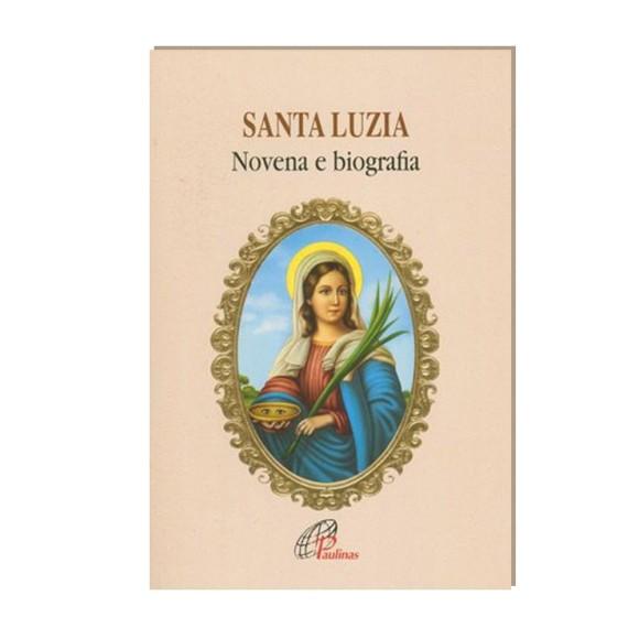 LI47108 - Novena  Santa Luzia - 13x9cm