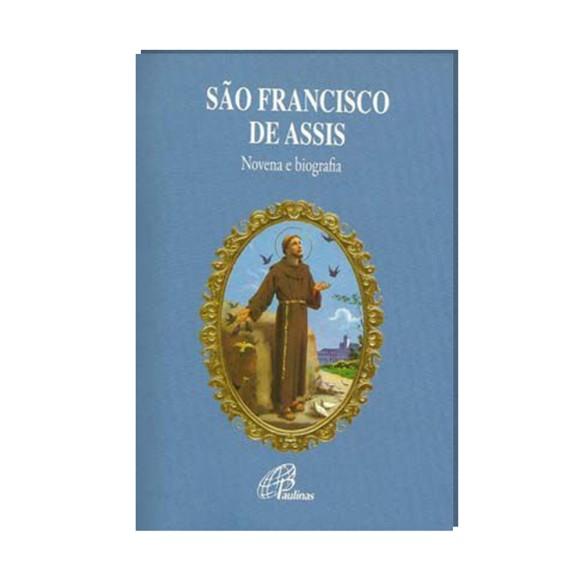 LI47201 - Novena São Francisco de Assis - 13x9cm