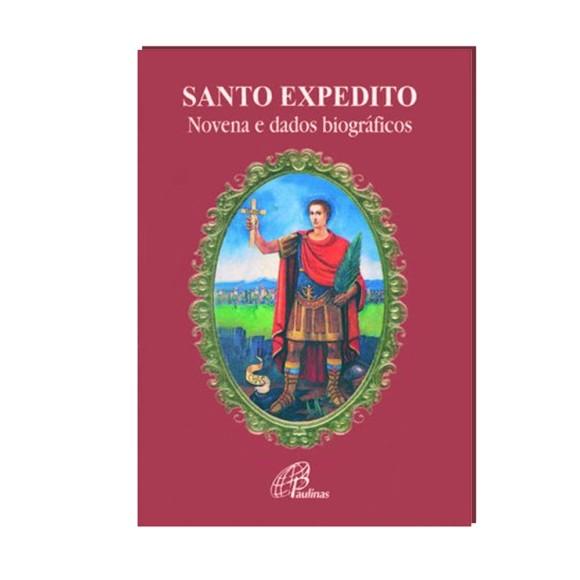 LI47203 - Novena Santo Expedito - 13x9cm