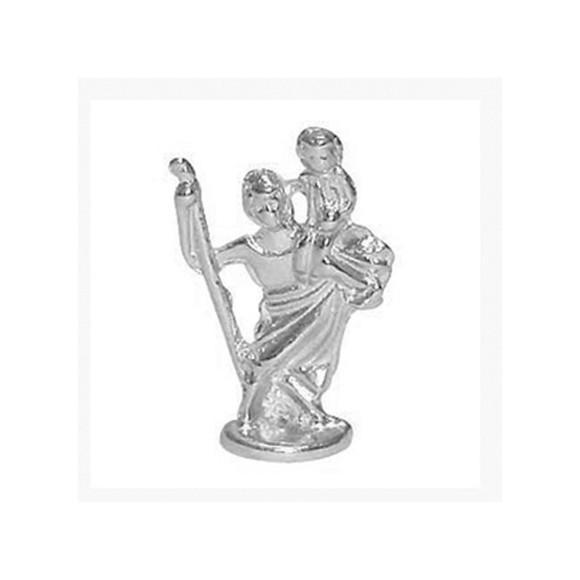 IM88404P3 - Imagem Miniatura São Cristovão (Bolso) Metal - 2,5X0,8cm
