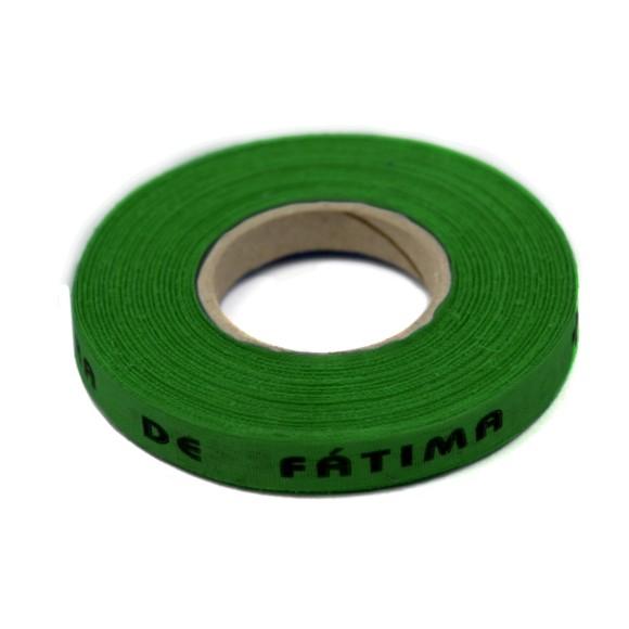 RF141027 - Rolo de Fita N. Sra. De Fátima Verde Bandeira