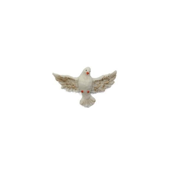 DI109001- Divino Espírito Santo de Resina - 9x5cm