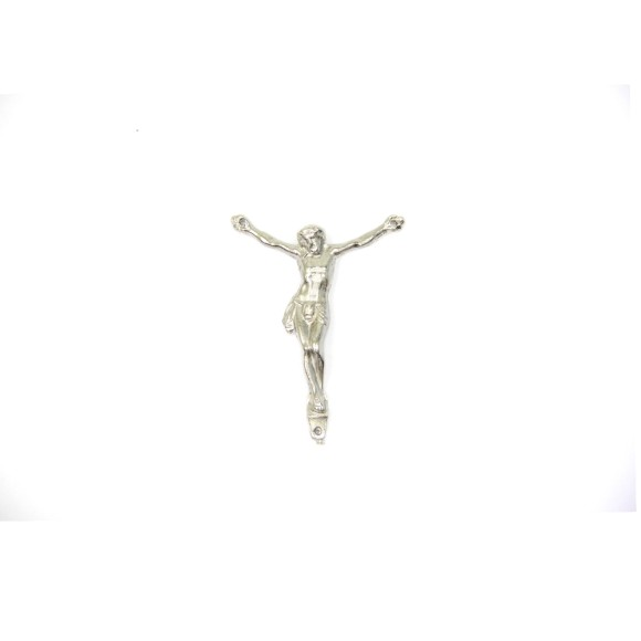 CW831002 P2- Jesus Cristo Metal Níquel c/ 2un. - 4x5cm