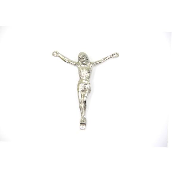 CW831004P2 - Jesus Cristo Metal Níquel c/ 2un. - 6X7cm