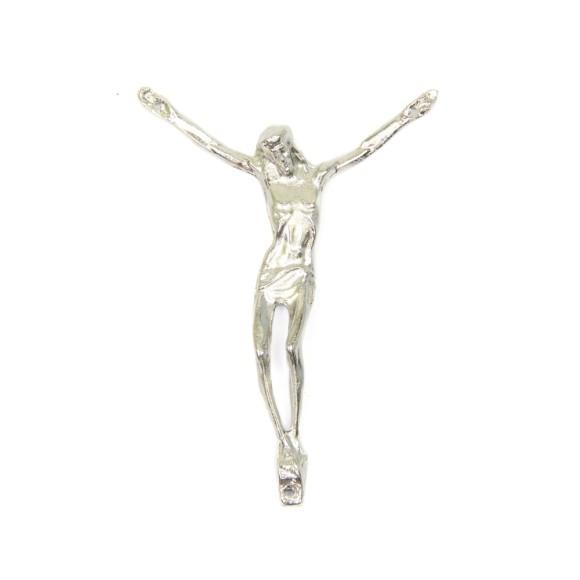 CW831007 - Jesus Cristo Metal Níquel - 7,5X10cm