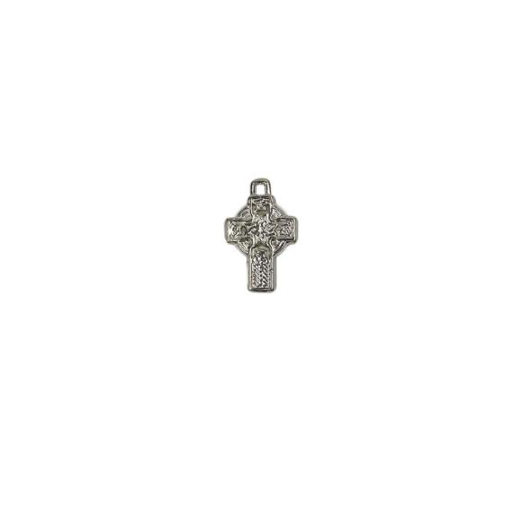 CZ86340 - Cruz Metal Níquel - 3,2x2cm