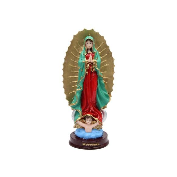IM1740024 - Imagem N. Sra. De Guadalupe Resina - 21,5x9,5cm