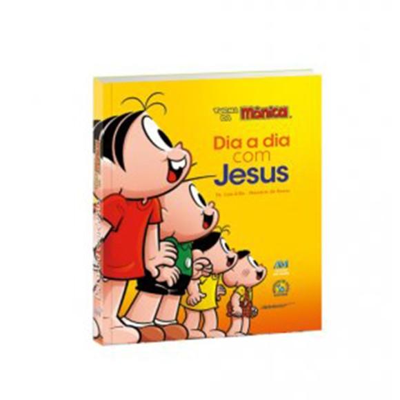 LI11625 - Dia a Dia com Jesus  Turma Da Mônica - 18x14,5cm