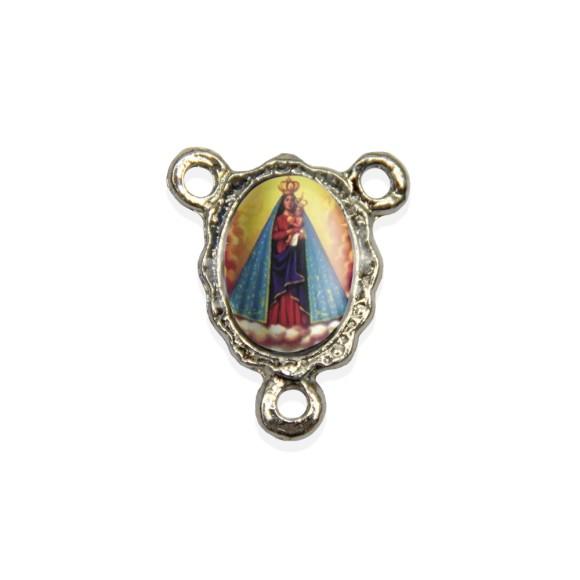 ET1671011P5 - Entremeio N. Sra. De Nazaré Resinado c/ 5un. - 1,9x1,5cm
