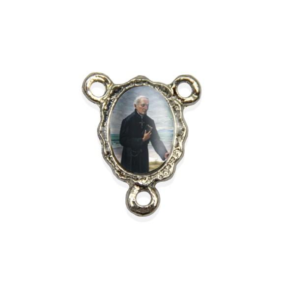 ET1671401P5 - Entremeio Padre José de Anchieta Resinado c/ 5un. - 1,9x1,5cm
