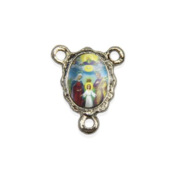 ET1671803P5 - Entremeio Sagrada Família Resinado c/ 5un. - 1,9x1,5cm