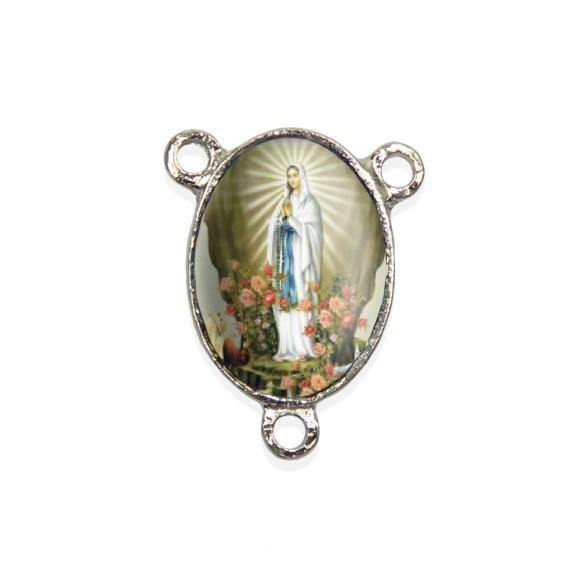 ET1680008P2 - Entremeio N. Sra. De Lourdes Resinado c/ 2un. - 2,5x2cm