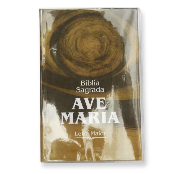 BI1542 - Bíblia Sagrada Ave Maria Letra Maior - 21x13,5cm