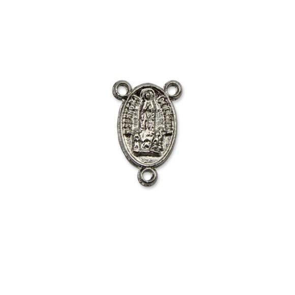 ET1640110P5 - Entremeio N. Sra. De Fátima Níquel c/ 5un. - 2x1,3cm