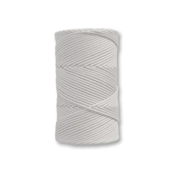 COM540001 - Fio Encerado Branco - 1mm
