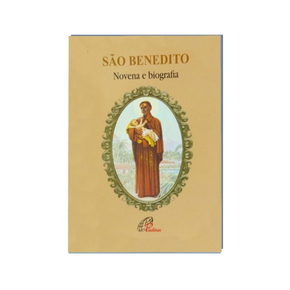 LI47211 - Novena São Benedito - 13x9cm