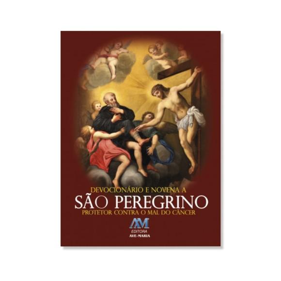 LI116081 - Devocionário e Novena a São Peregrino - 15x11cm