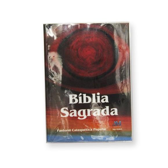 BI1540 - Bíblia Sagrada Catequética Popular - 13,5x10cm