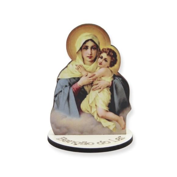 AO291000 - Pedestal Mãe Rainha MDF - 7,5x5,3cm