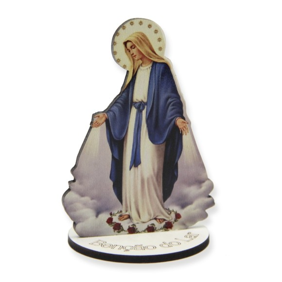 AO291002 - Pedestal N. Sra. Das Graças MDF - 8,5x5,8cm